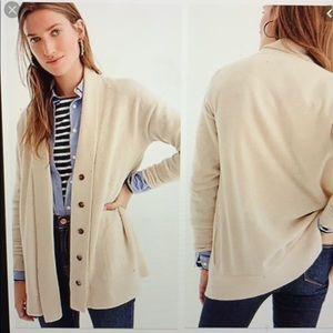 J Crew Cashmere Cardigan Sweater